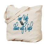 Shower with a Sailor  Tote Bag