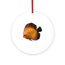 Discus Red Panda Ornament (Round)