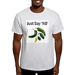 Just Say 'NO' - Crohn's Ash Grey T-Shirt