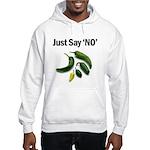 Just Say 'NO' - Crohn's Hooded Sweatshirt