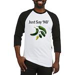 Just Say 'NO' - Crohn's Baseball Jersey