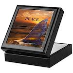 PEACE WHALE Keepsake Box