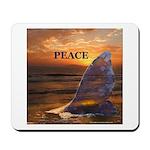 PEACE WHALE Mousepad