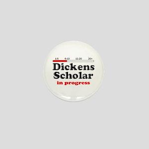 Dickens Scholar Mini Button