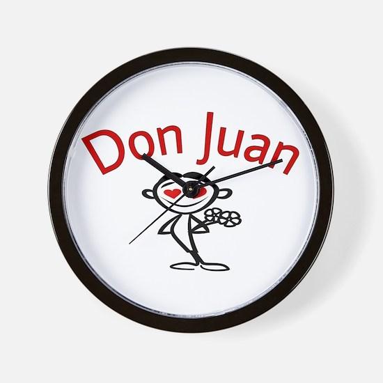 Don Juan Wall Clock