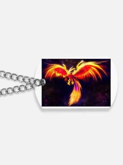 Unique Phoenix bird Dog Tags