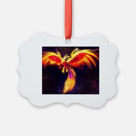 Funny Phoenix Ornament