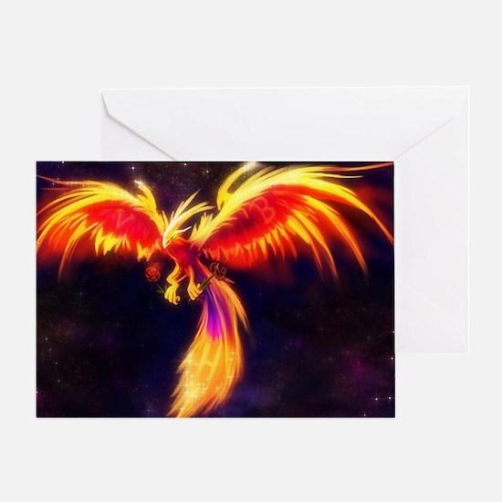 Unique Phoenix Greeting Card