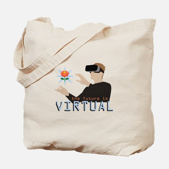 The Future Is Virtual Tote Bag