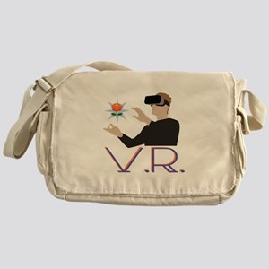 Virtual Reality V.R Messenger Bag