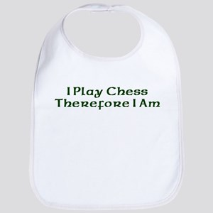 I Play Chess Therefore I Am Bib