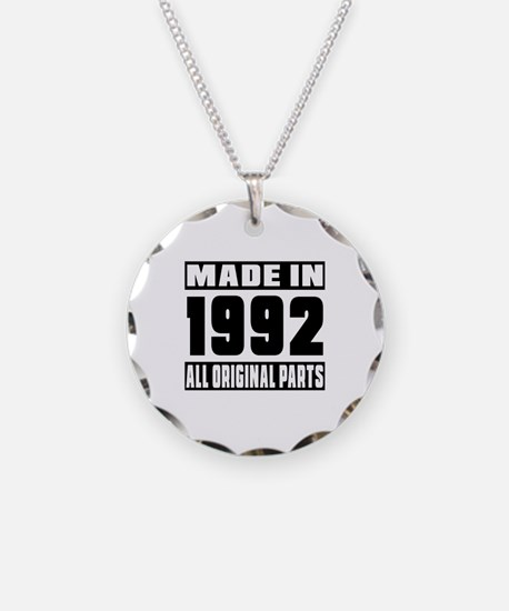 Made In 1992 Necklace