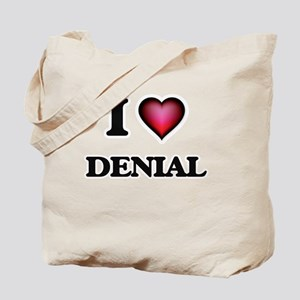 I love Denial Tote Bag