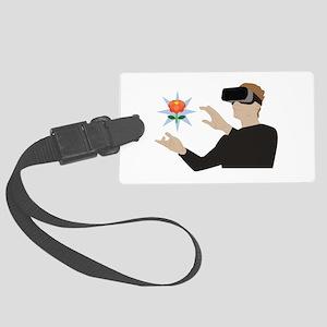 Virtual Reality Luggage Tag