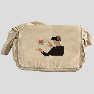 Virtual Reality Messenger Bag