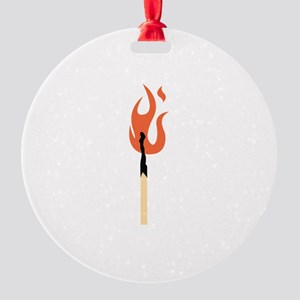 Burning Matchstick Ornament