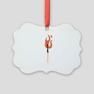 Burning Matchstick Ornament