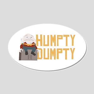 Humpty Dumpty Wall Decal