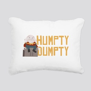 Humpty Dumpty Rectangular Canvas Pillow
