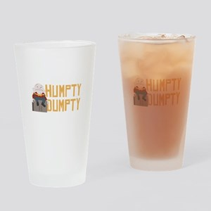 Humpty Dumpty Drinking Glass