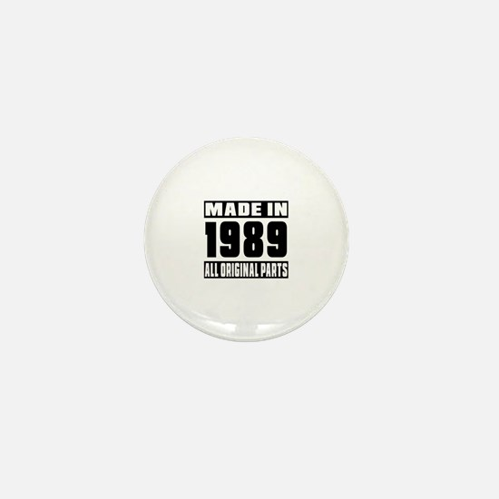 Made In 1989 Mini Button