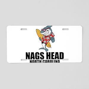 Nags Head, North Carolina Aluminum License Plate