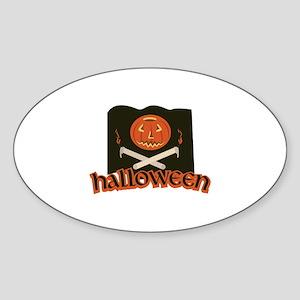 Halloween Flag Sticker
