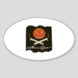 Halloween Spirit Flag Sticker