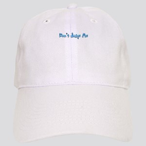 Don't Judge Me Quote Logo Graphic Baseball Cap