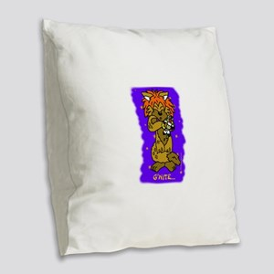 G'Nite Burlap Throw Pillow
