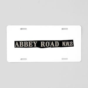 Abbey Road Aluminum License Plate