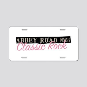 Abbey Road Classic Rock Aluminum License Plate