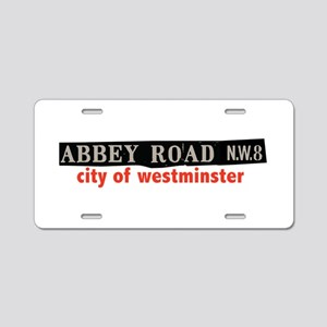 Abbey Road Westminster Aluminum License Plate