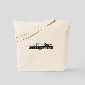 Trip Down Abbey Road Tote Bag