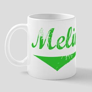 Melina Vintage (Green) Mug