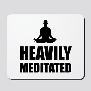 Heavily Meditated Mousepad