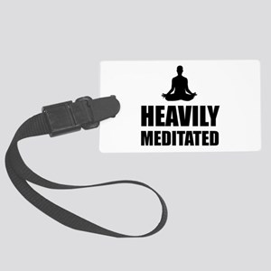 Heavily Meditated Luggage Tag