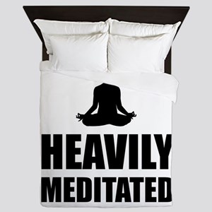 Heavily Meditated Queen Duvet