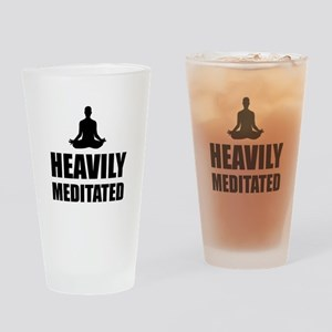 Heavily Meditated Drinking Glass