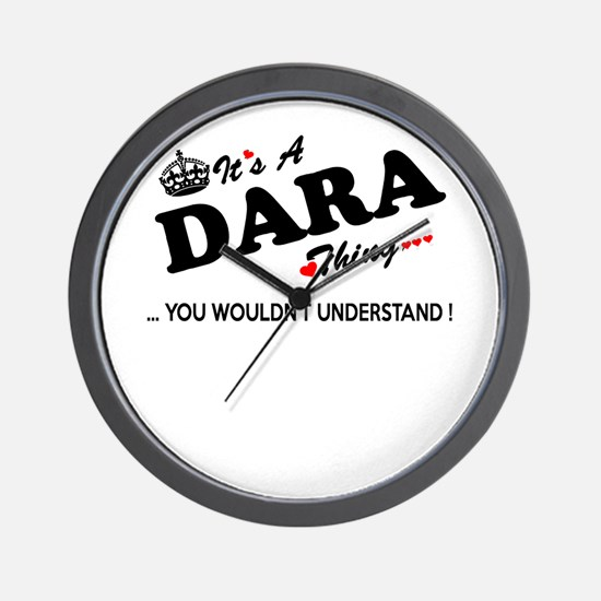 Cute Dara Wall Clock