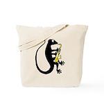 Gecko Saxophone Tote Bag