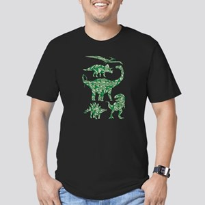 Geometric Dinosaurs T-Shirt