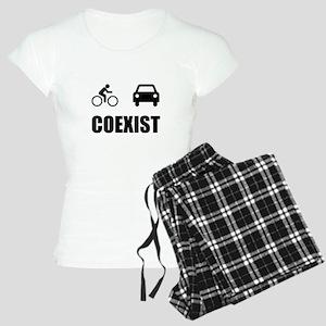 Coexist Car Bicycle Pajamas