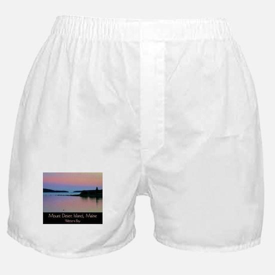 Mount Desert Island - Western Bay Boxer Shorts