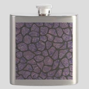SKIN1 BLACK MARBLE & PURPLE MARBLE Flask