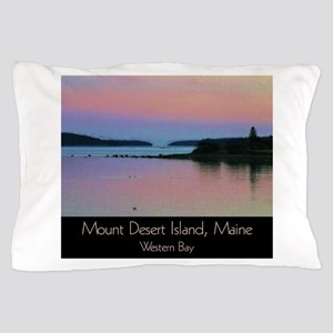 Mount Desert Island - Western Bay Pillow Case