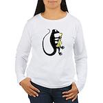 Gecko Saxophone Women's Long Sleeve T-Shirt