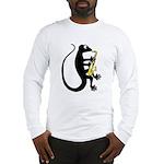Gecko Saxophone Long Sleeve T-Shirt