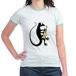 Gecko Saxophone Jr. Ringer T-Shirt