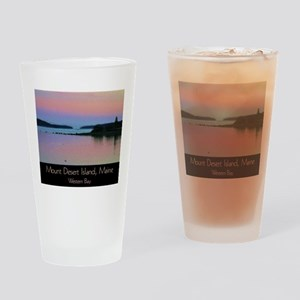 Mount Desert Island - Western Bay Drinking Glass